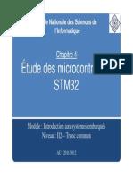 Chapitre 4-Etude Des Microcontroleurs STM32