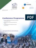 Gastech 2014 Programme