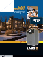 Laars NeoTherm Residential HIgh Efficiency Condensing Gas Fired Hot Water Boiler Brochure