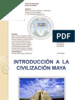 INTRODUCCIÓN  A  LA CIVILIZACIÓN MAYA