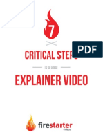 7 Critical Steps to Creating an Explainer Video