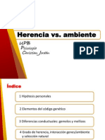 Tema3 Herencia vs. Ambiente (1)