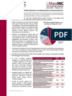 MassINC Polling Brief on Criminal Justice Survey