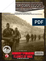 Hungarian Corps Reserve Briefing