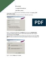 Apache, Php, Mysql Installation