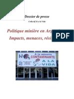 Dossier Politique+Mini%C3%A8re+Argentine Si+a+La+Vida