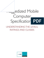 Ruggedized Mobile Computer Specs