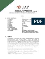 Silabo+de+Educacion+Para+La+Salud+2011