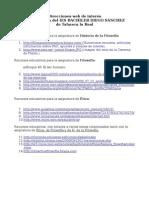 Recursos utilizados en el IES Bachiller Diego Sánchez de Talavera