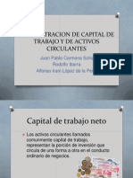 Admon Capital de Trabajo
