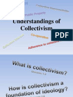 understandings of collectivism