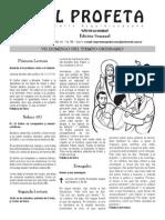 Boletin El Profeta Del 23 Febrero 2014