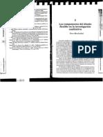 Los componentes del diseño flexible de investigación cualitativa