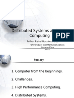 Distributed Systems and Grid Computing