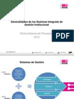 Generalidades de SIGI 10-2012