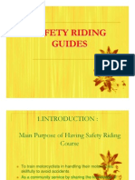 Safety Riding English