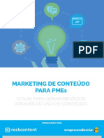Marketing de Conteudo PMEs