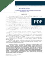 Metodologie de Admitere SD2013