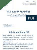 Risk-Return Measures 2012