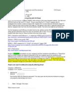 Final Presentation Research Proj Fall 2009