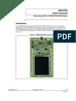 STM32F429 User Manual