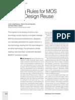 Analog Design Sizing Method