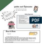 seg and opp learning menu website