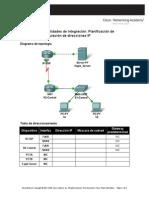 Planificación de subredes y configuración de direcciones IP