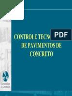Abcp Controle Tecnologico Pavimento de Concreto