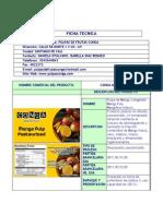 Ficha Tecnica Mango