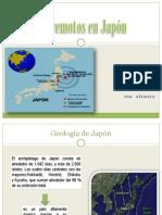 Diapositivas de Sismica Terremoto de Japon