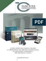 Gaceta Constitucional 2014-Encarte