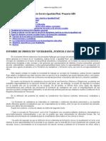 Justicia Social e Igualdad Real Proyecto Ubv
