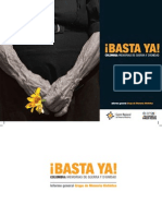 Basta Ya. Memorias Guerra Dignidad. 2013