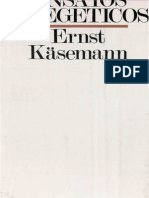 Kasemann, Ernst - Ensayos Exegeticos
