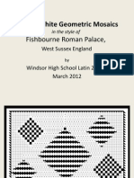 Black-White-Geometric-Mosaics