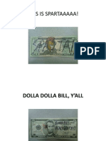 Dollar Bill Presentation