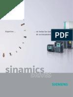Folleto Siemens Sinamics Drives