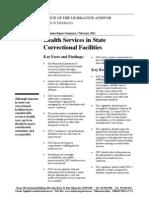 Health Services Summary