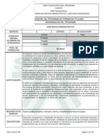 Estructura Curricular Asistencia Administrativa