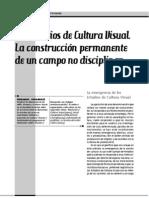 Hernández, Fernando - Los Estudios de Cultura Visual. La construcción permanente de un campo no disciplinar