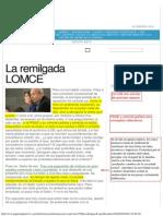 La remilgada LOMCE  por José Luis García Garrido.pdf