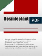 Desinfect Ante