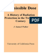 Permissible Dose. a History of Radiation Protection in the Twentieth Century 0520223284