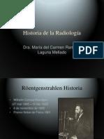 A Historia de la radiología para fisioterapia