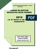 Pedro 2010