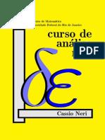 Curso de Analise Real(Autor Cassio Neri)
