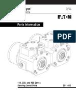 06-321 Parts Manual Orbitrol Eaton