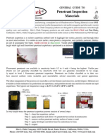 Guide to Penetrant Materials 4 09