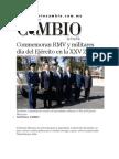 19-02-2014 Diario Matutino Cambio de Puebla - Conmemoran RMV y militares día del Ejército en la XXV Zona.pdf